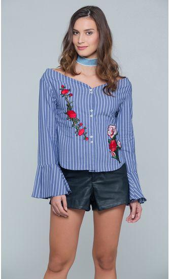 Camisa-Listras-Punho-Frilled