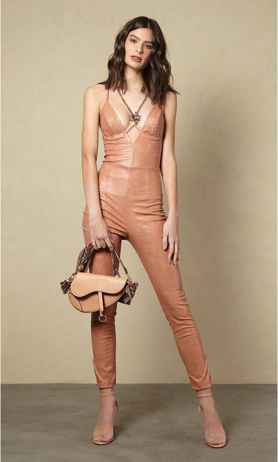 Calca-Skinny-Faux-Leather-Croco-
