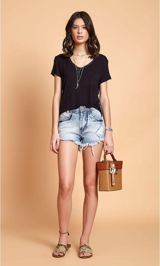 Short-Jeans-Cintura-Alta-Detalhe-Rebite