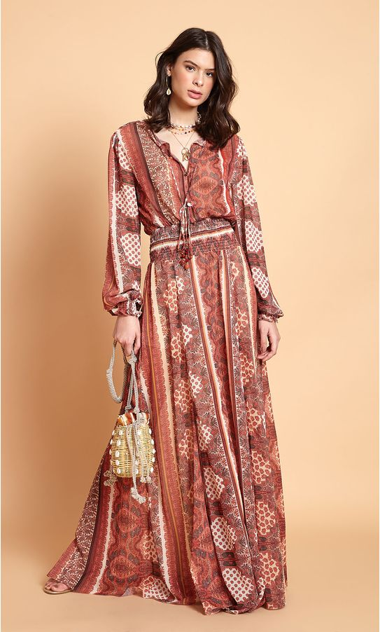 Vestido-Longo-Manga-Longa-Estampa-Medina
