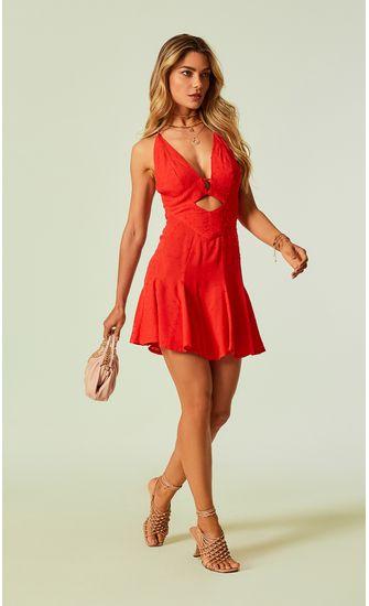 33020719-vestido-viscose-poa-decote-vazado-vermelho-flame-1